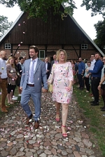 03.08.2019 - Gratulation an Christina Meyer-Borghorst (geb. Meyer) und Michael Borghorst